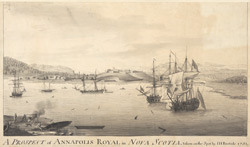 A PROSPECT of ANNAPOLIS ROYAL in NOVA SCOTIA